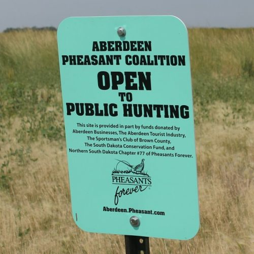 Aberdeen Pheasant Coalition Sign